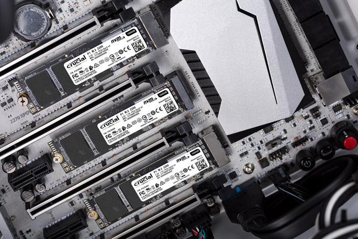 Instalación discos SSD Crucial