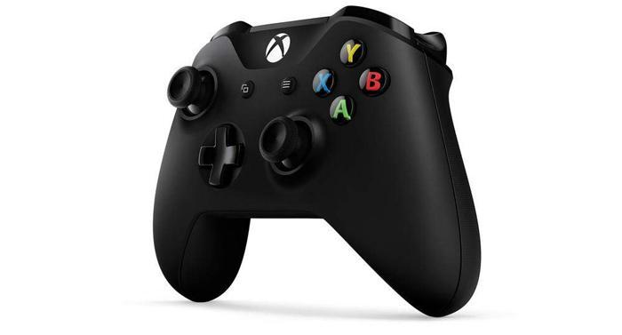 mando para la consola Xbox de color negro