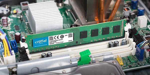 Instalación memoria RAM Crucial