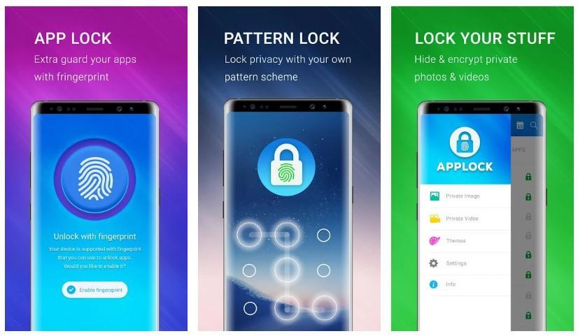 Aplicación Applock - Fingerprint Pro