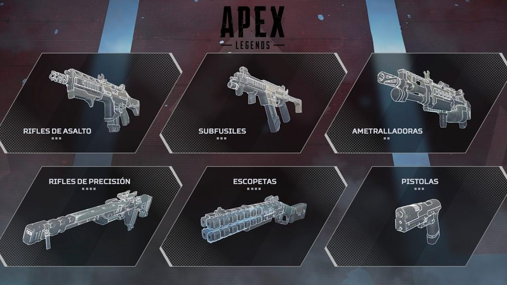 Armas de Apex Legends