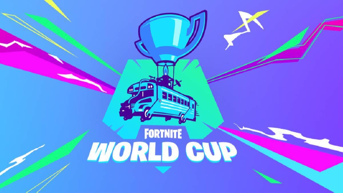 Logo de Fortnite World Cup