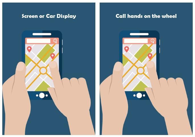 Aplicación Free Android Auto Maps GPS Voice Messag Media Tips