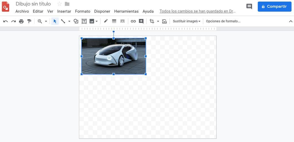 Dibujos de Google en Google Drive