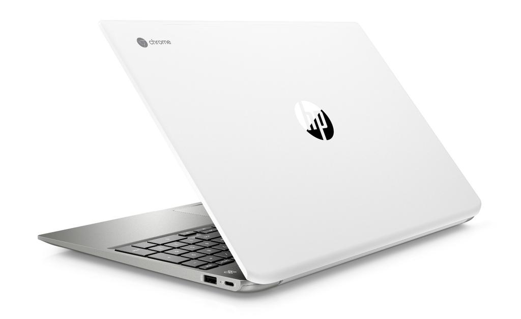 HP Chromebook 15 por detrás