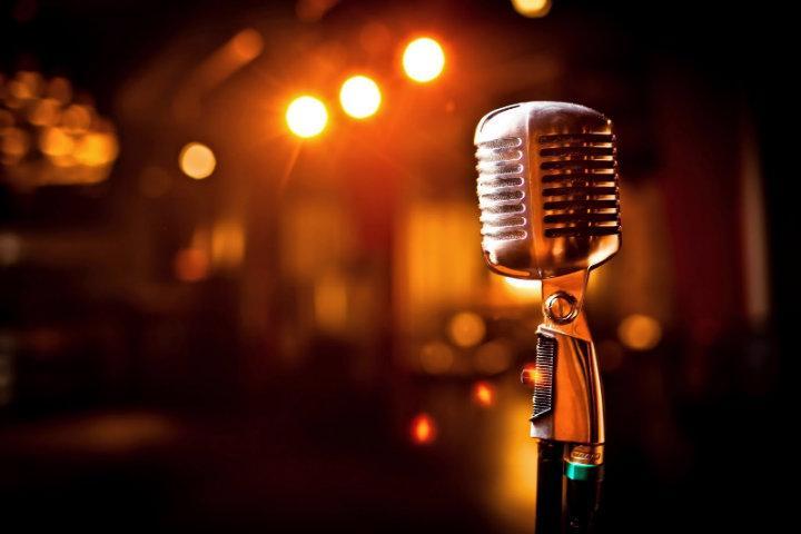 Micrófono para cantar en karaoke