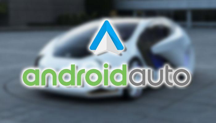 Logotipo de Android Auto