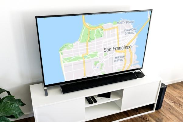Aplicación Maps on Chromecast
