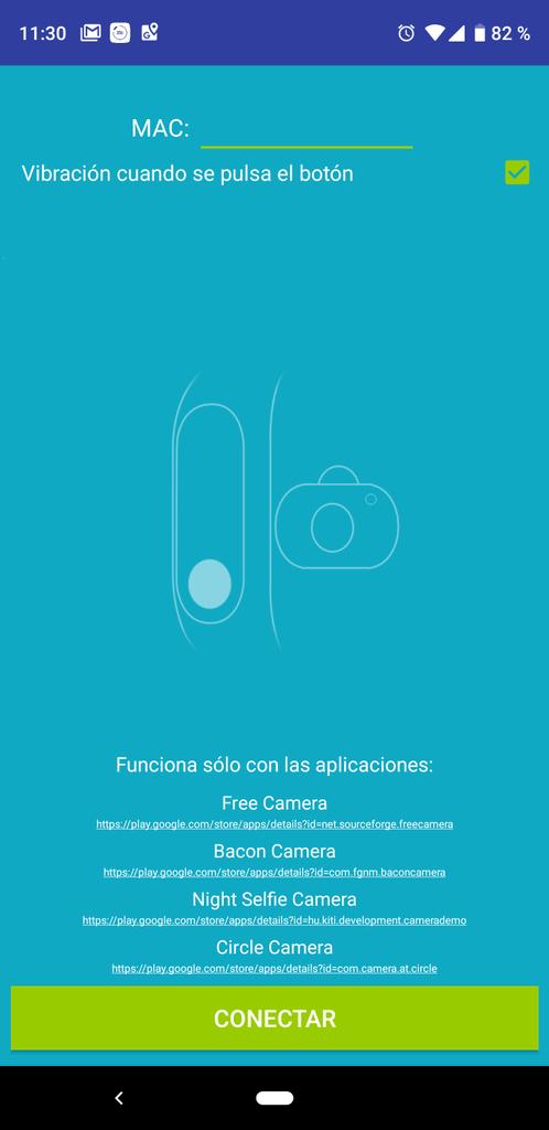 Aplicación Mi Band 23 & Amazfit Selfie para Xiaomi Mi Band 3