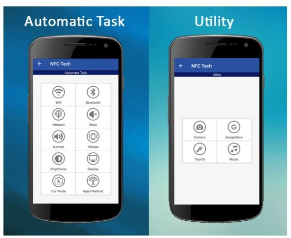 Aplicación NFC Tech
