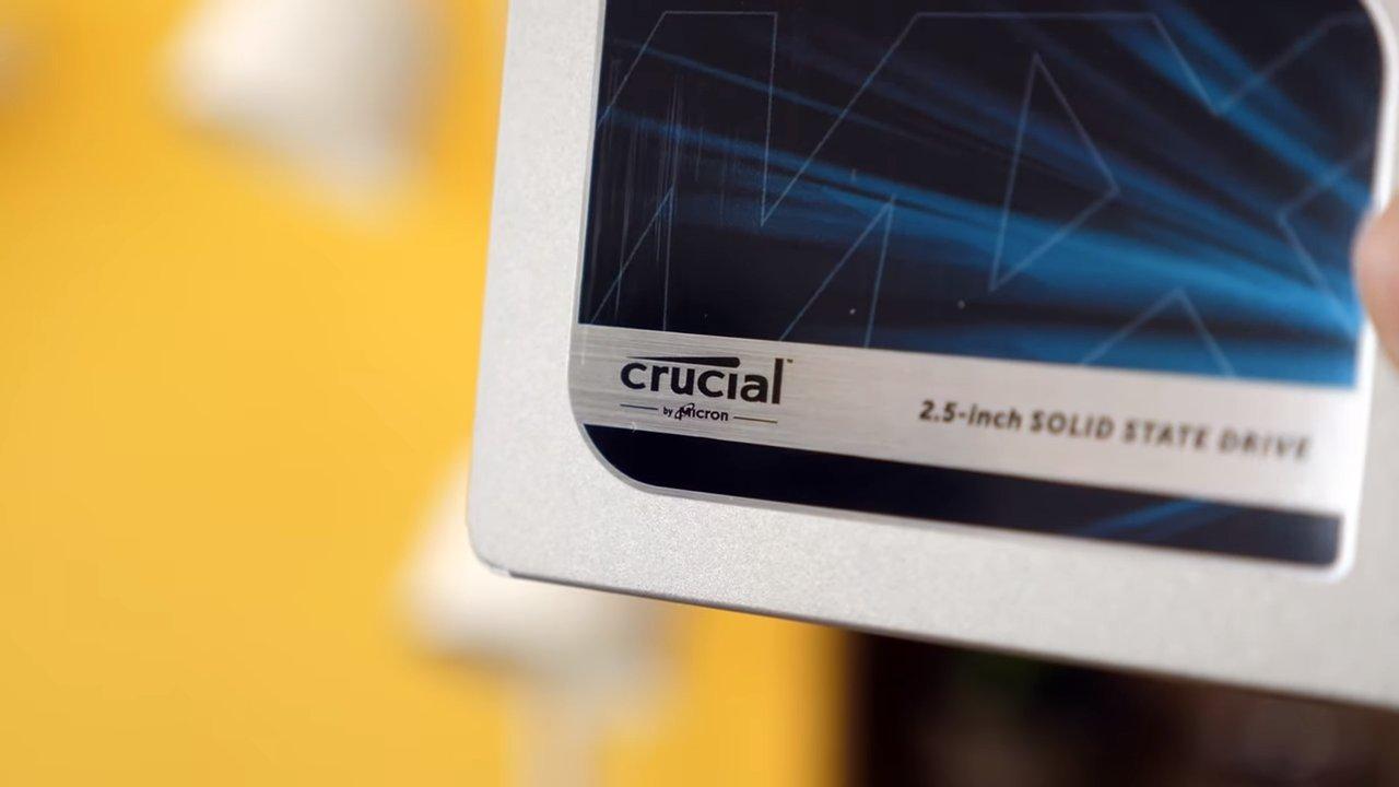Disco SSD de Crucial MX500