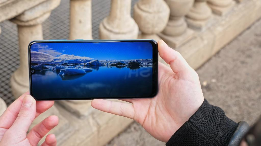 Pantalla del Samsung Galaxy A50