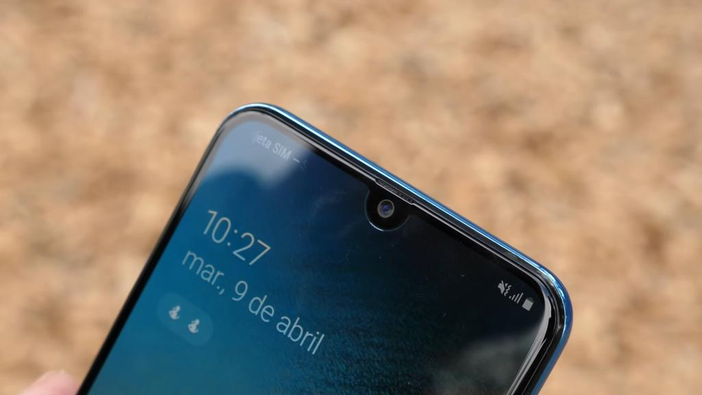 Notch del Samsung Galaxy A50