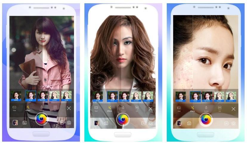 Aplicación Selfie Camera Pro