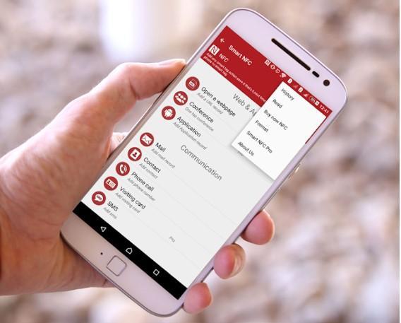 Aplicación Smart NFC
