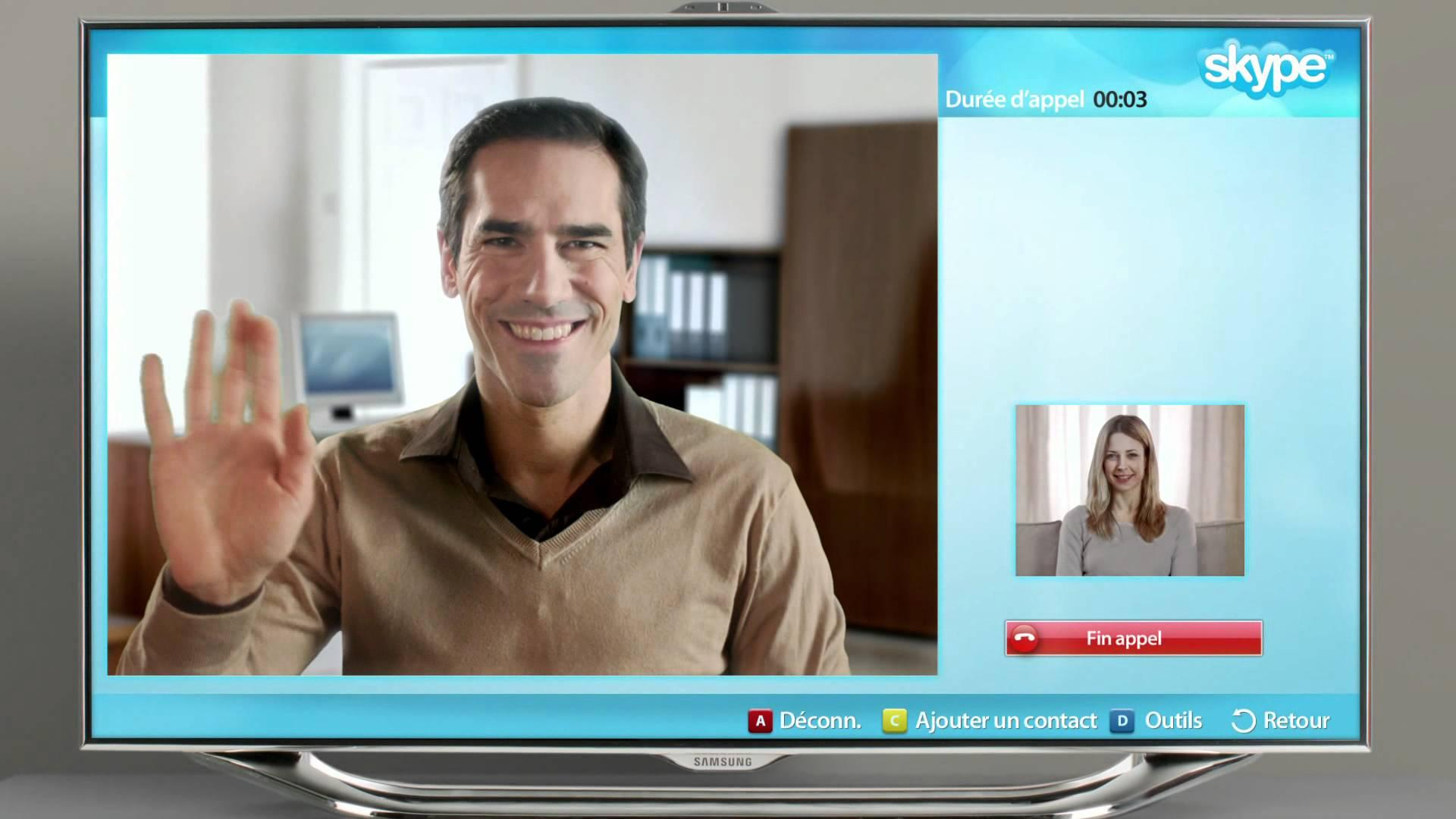 Smart TV con Skype