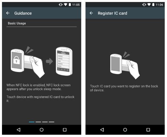 Aplicación SmartPassLock NFC