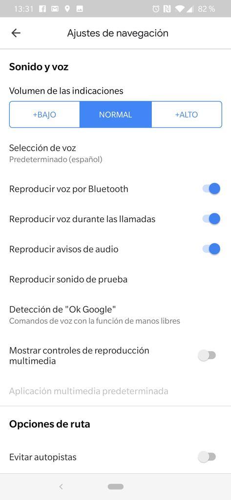 Personalizar comandos de voz en Google Maps