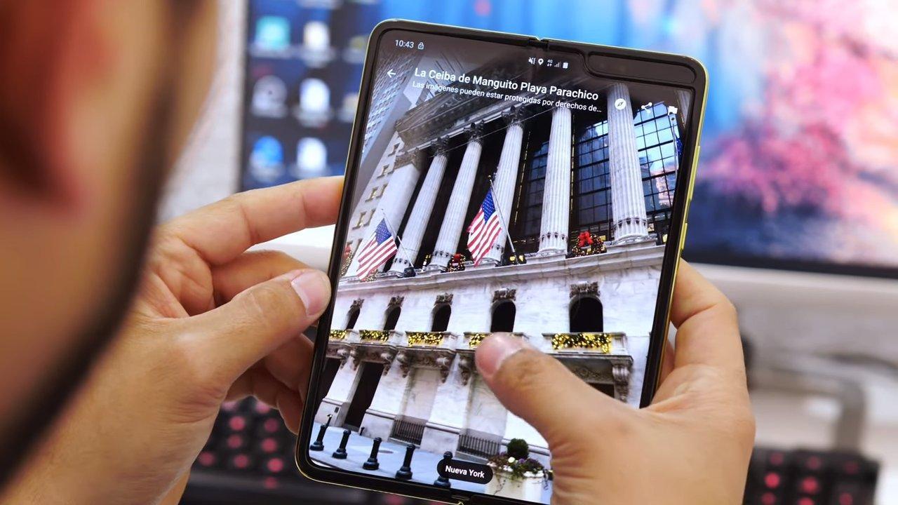 Nuevo teléfono Samsung Galaxy Fold