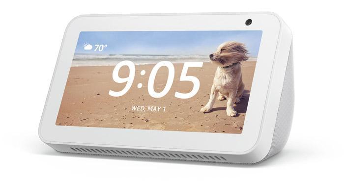 Amazon Echo Show 5 de color blanco