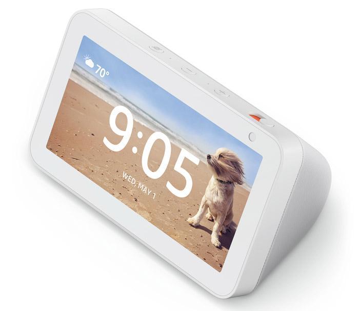 Diseño de la pantalla inteligente Amazon Echo Show 5