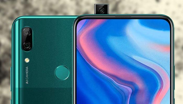 Cámara retráctil del Huawei P smart Z