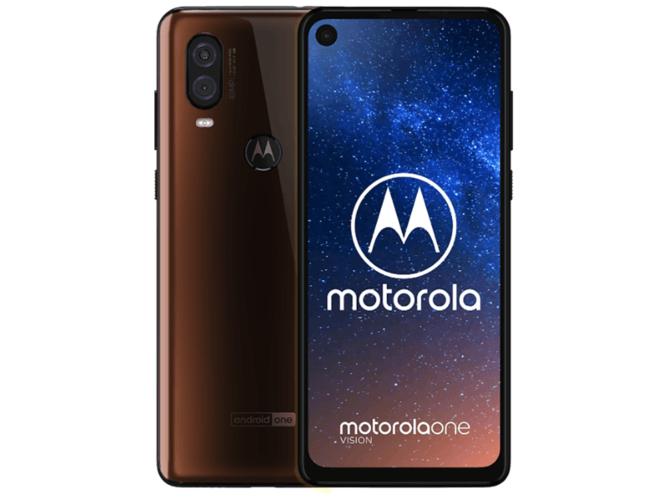 Diseño del Motorola One Vision