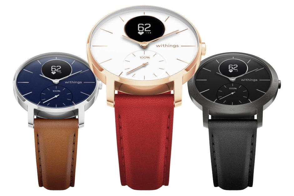 Colores del samrtwatch Withings Steel HR Sapphire Signature
