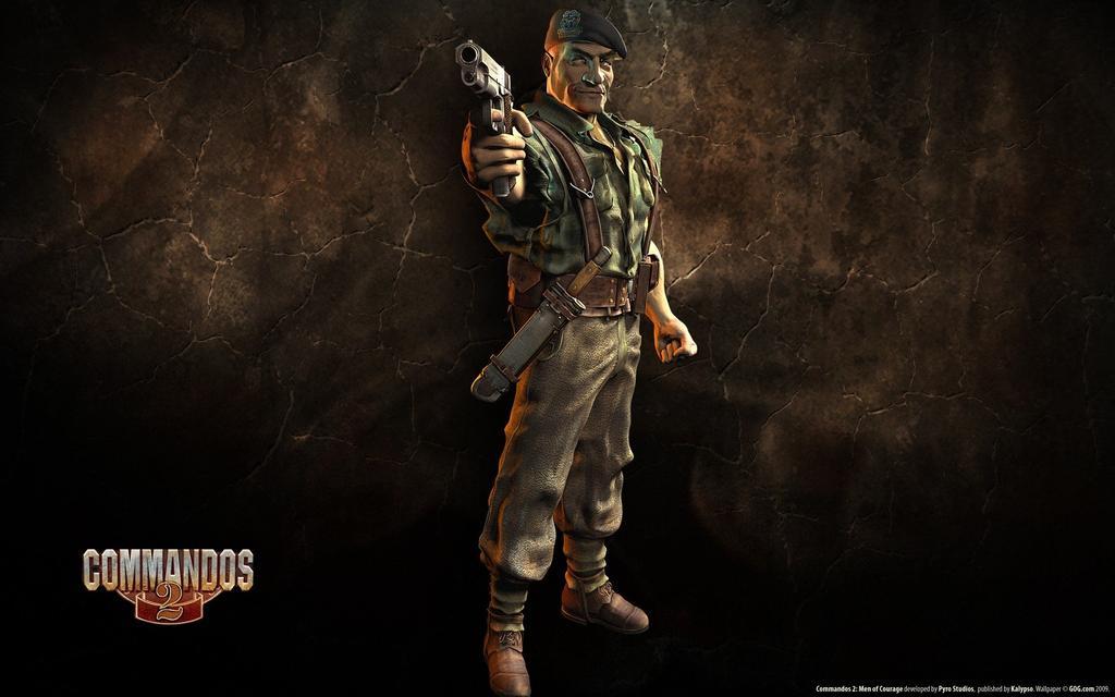 Boina verde en Commandos 2: Men of Courage