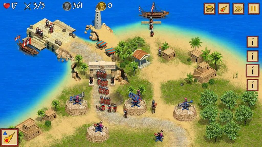 Juego Android Egypt TD