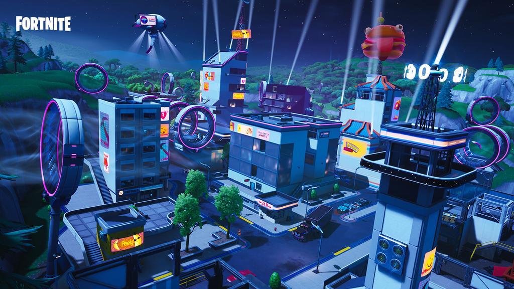 Centro comercial en Fortnite