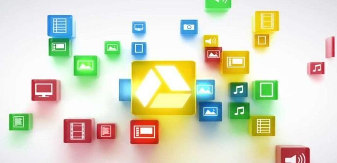 Logo de color de Google Drive