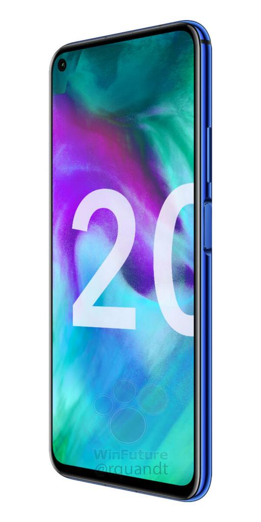 Honor 20 de lado