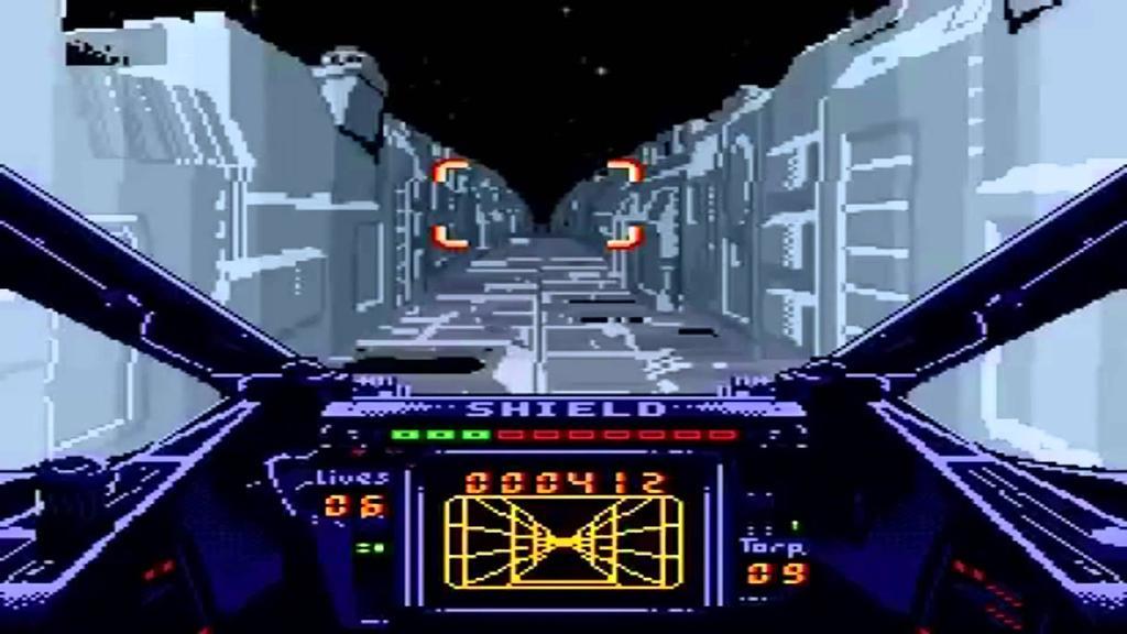 Juego de ocho bits Super X-Wing