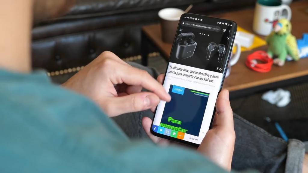 OnePlus 7 Pro pantalla