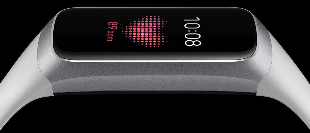 Sensor de ritmo cardíaco de la Samsung Galaxy Fit