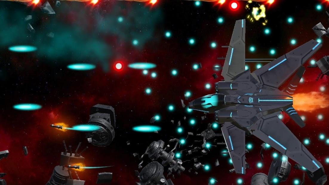 Juego Android Space Shooter : AsaP Bullet Hell white