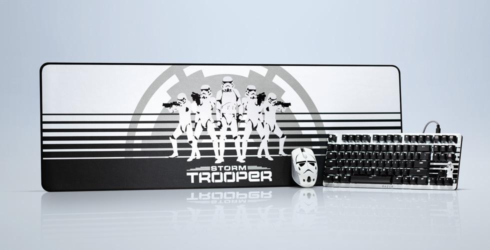 Periféricos Star Wars Stormtrooper de Razer
