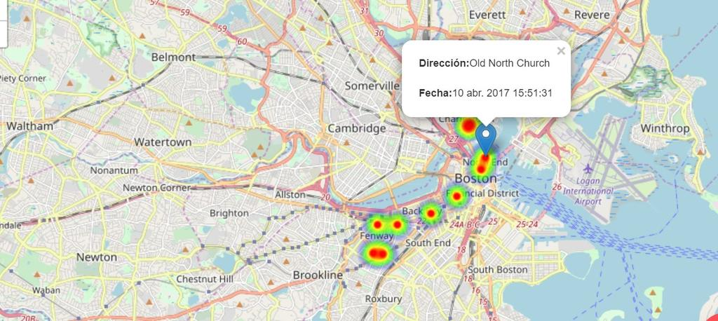 Detectar ubicaciones en Spyzie