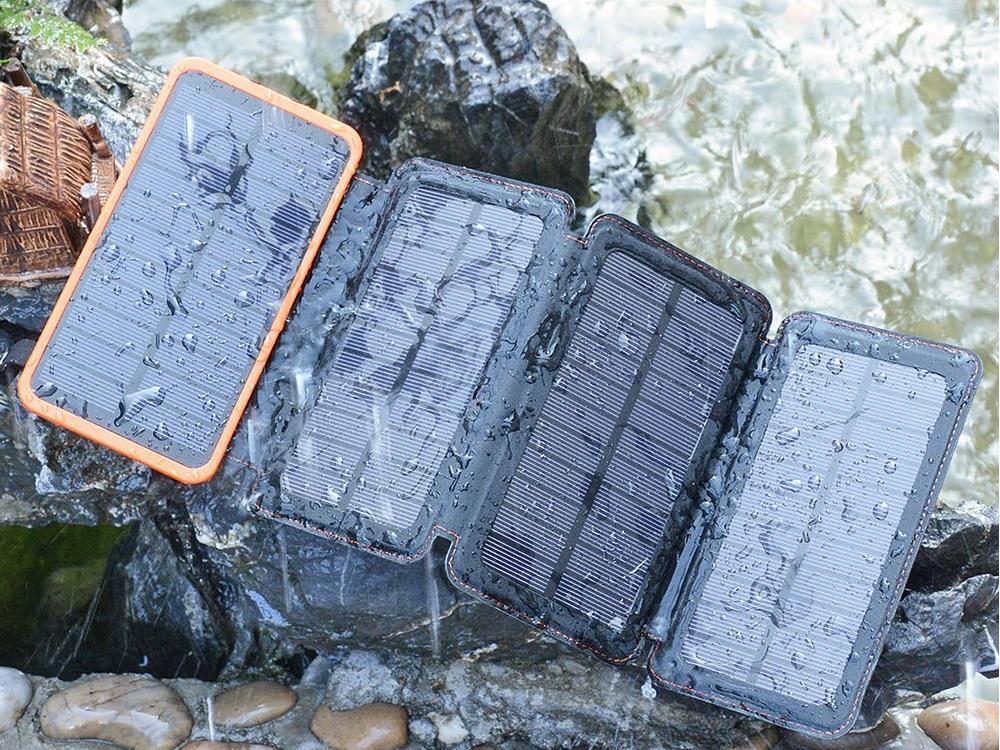 baterías externas resistentes al agua