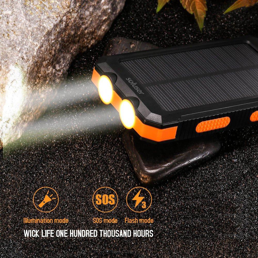 batería externa resistente al agua