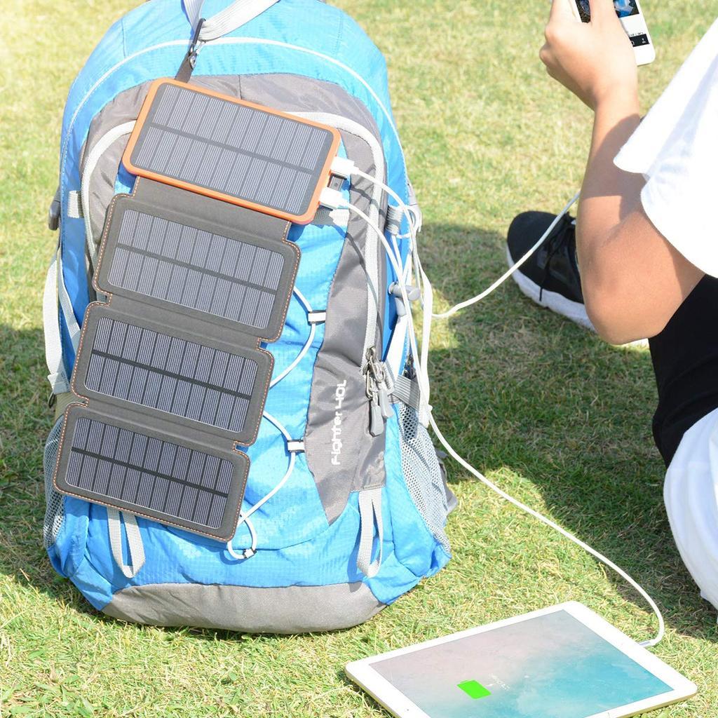 Batería externa resistente al agua y solar