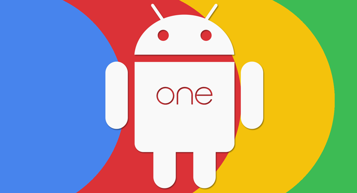 Logo color Android One