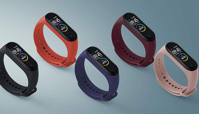Correas de colores de la Xiaomi Mi Smart Band 4