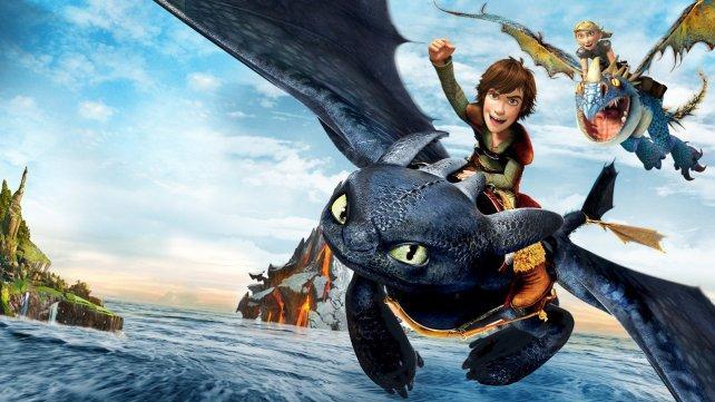 película cómo entrenar a tu Dragon en HBO