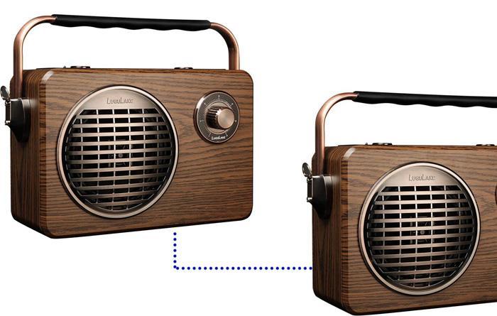 Conexión de dos LuguLake Bluetooth Speaker