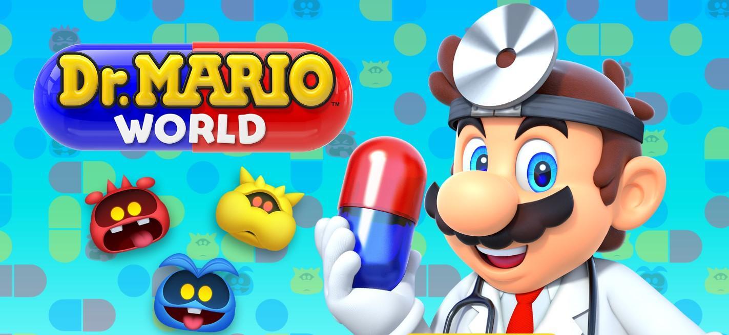 Juego Dr. Mario World