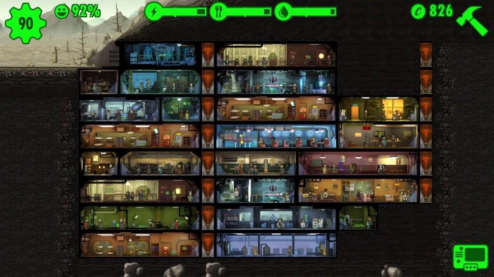 Juego Fallout Shelter