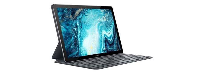Huawei MediaPad M6 con teclado