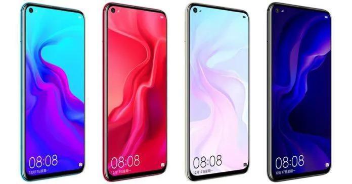 Diseño del Huawei Nova 5i